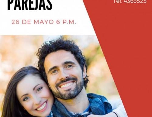 Conferencia de parejas, Domingo 26 Mayo 6:00 P.M.